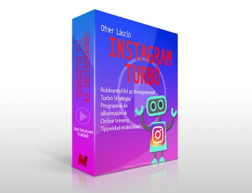 Instagram Turbó Stratégia – 50 oldalas e-book